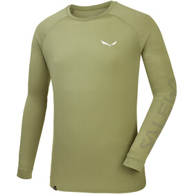 SALEWA Pedroc Delta Dry LS Tee Men oil green